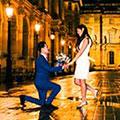 海外巴黎婚纱摄影套裝套餐价格, 巴黎日景, 晚霞景和夜景全系列套裝套餐价格